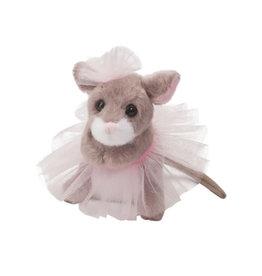 Douglas Tippy Toe Mouse with tutu