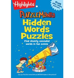 Highlights Highlights Puzzle Mania Hidden Words Puzzles