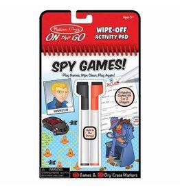 Melissa & Doug Melissa & Doug: Wipe-Off Activity Pad - Spy