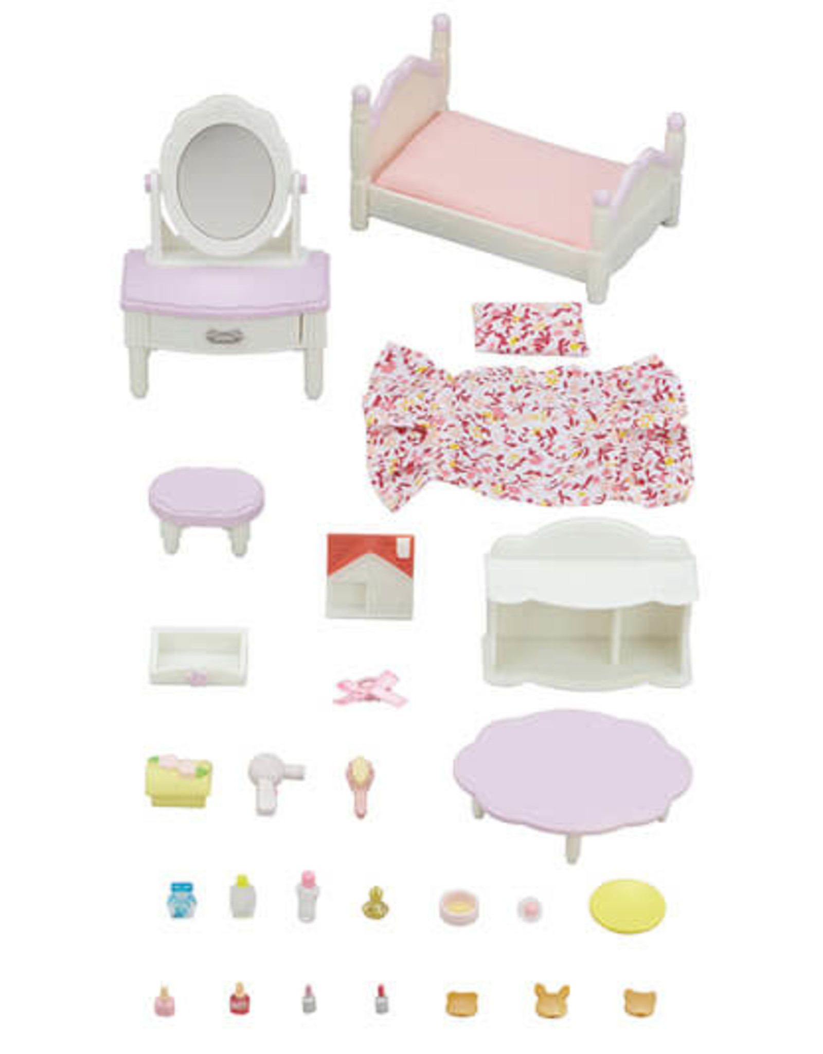 Calico Critters Bedroom And Vanity Set Calico Critters