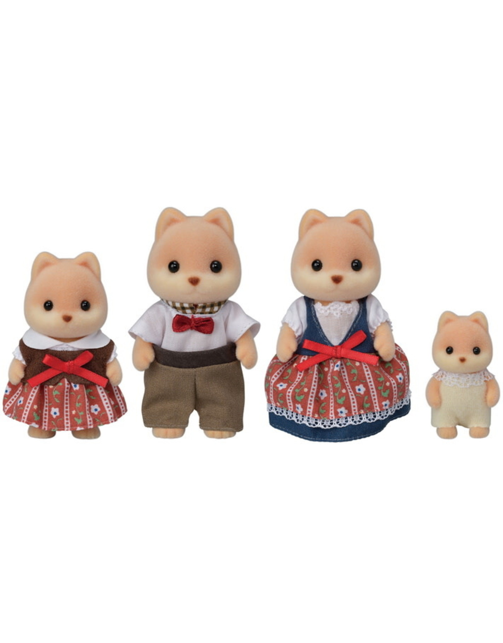 Calico Critters BL Caramel Dog Family Calico Critters