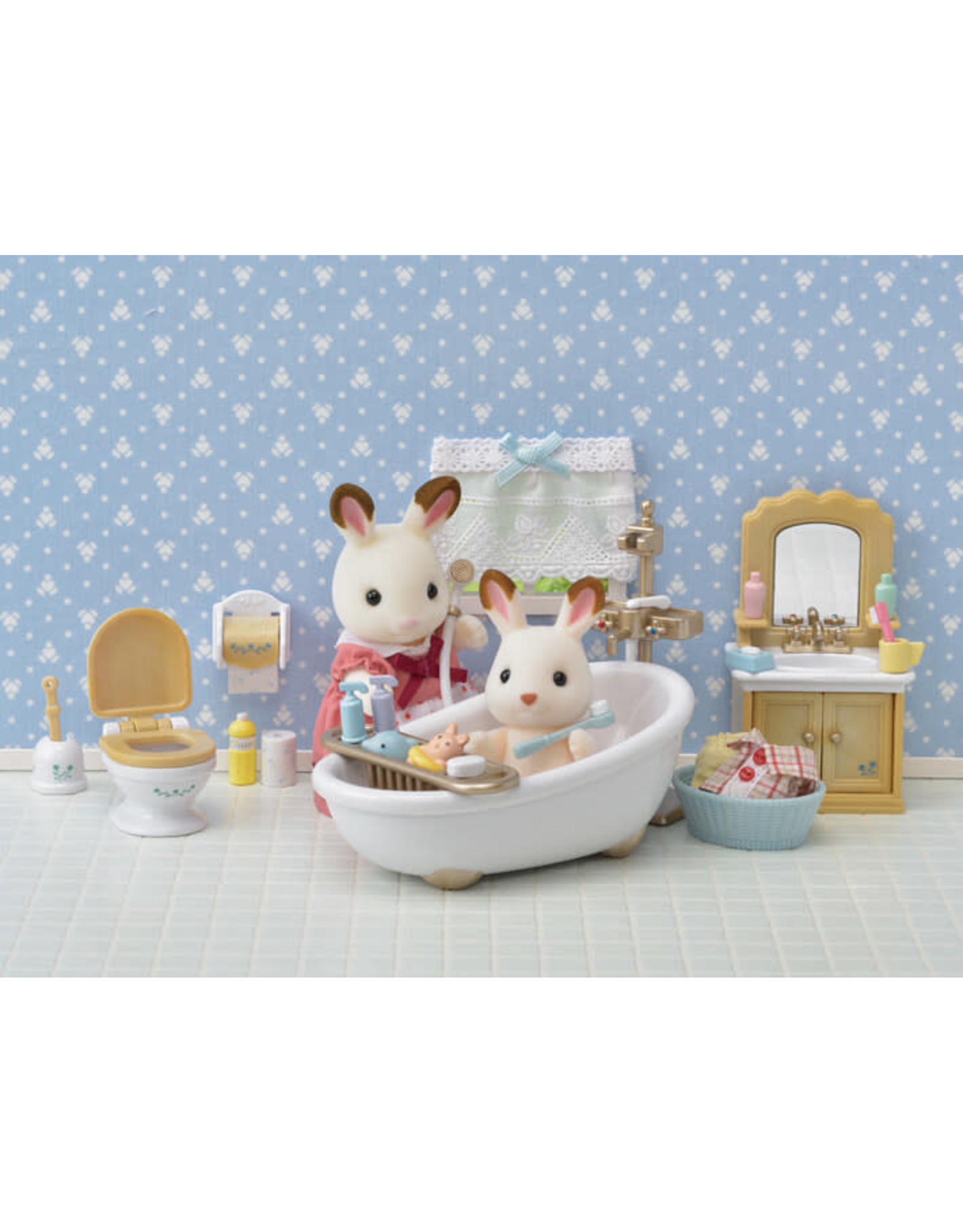 Calico Critters BL Country Bathroom Set Calico Critters