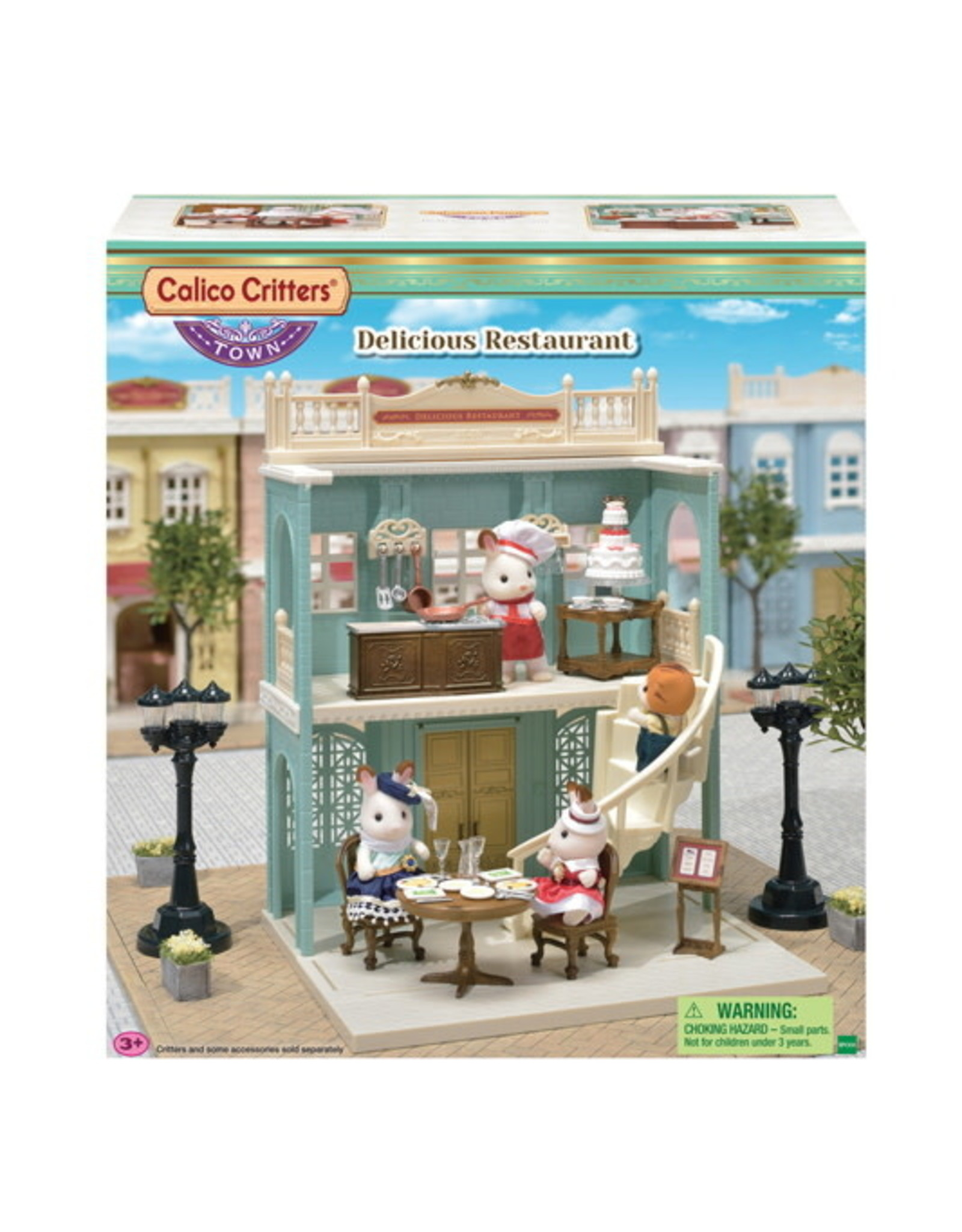 Calico Critters BL Delicious Restaurant Calico Critters
