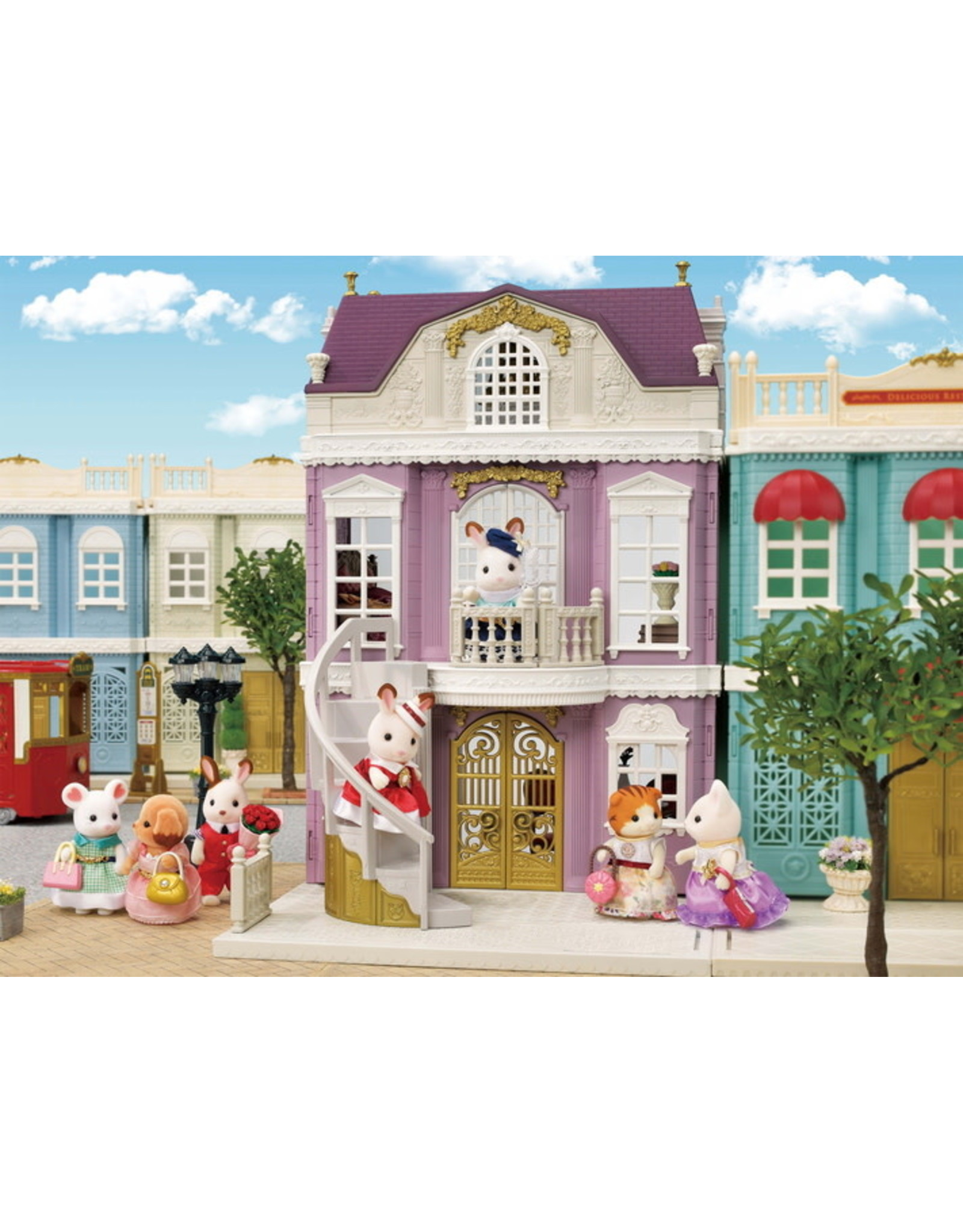 Calico Critters Elegant Town Manor Gift Set Calico Critters