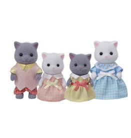 Calico Critters BL Persian Cat Family Calico Critters