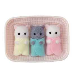 Calico Critters BL Persian Cat Triplets Calico Critters