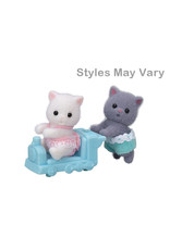 Calico Critters BL Persian Cat Twins Calico Critters