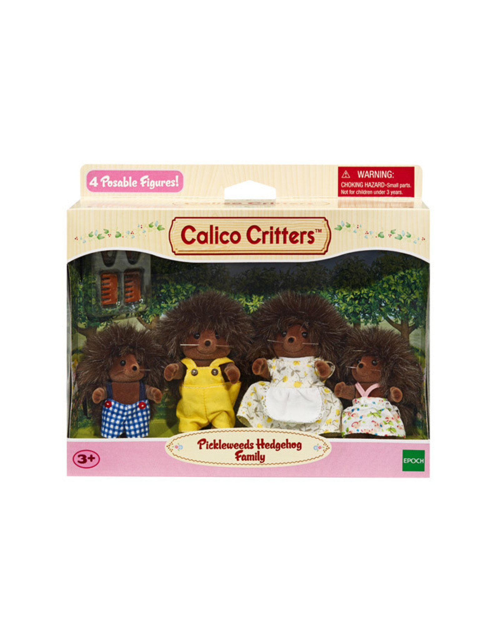 Calico Critters BL Pickleweed Hedgehog Family Calico Critters