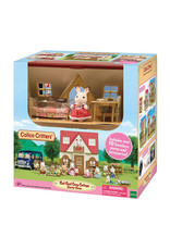 Calico Critters BL Red Roof Cozy Cottage Calico Critters