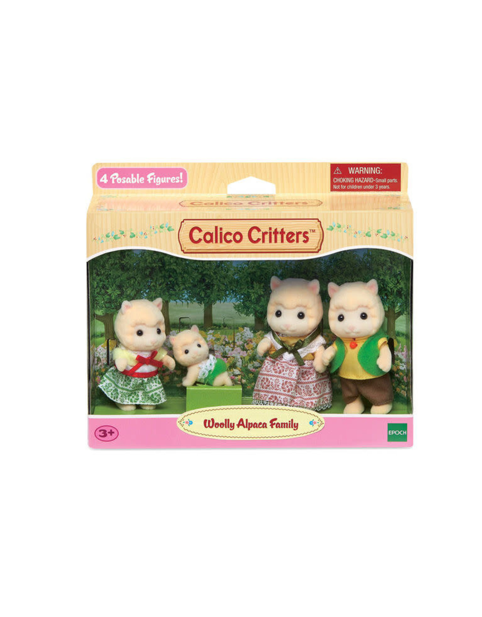Calico Critters BL Woolly Alpaca Family Calico Critters
