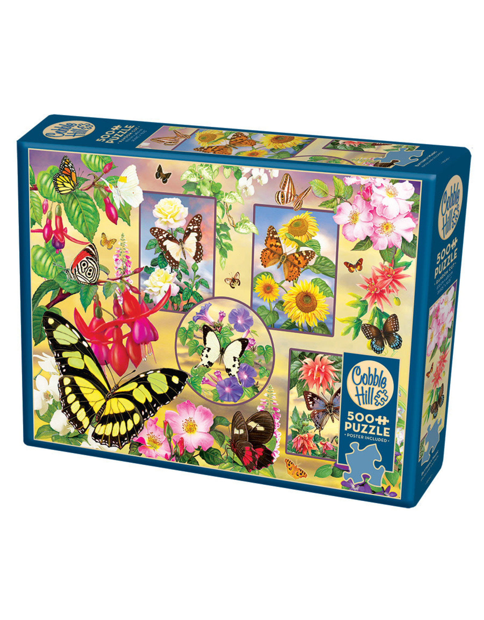 Cobble Hill Butterfly Magic 500 pc