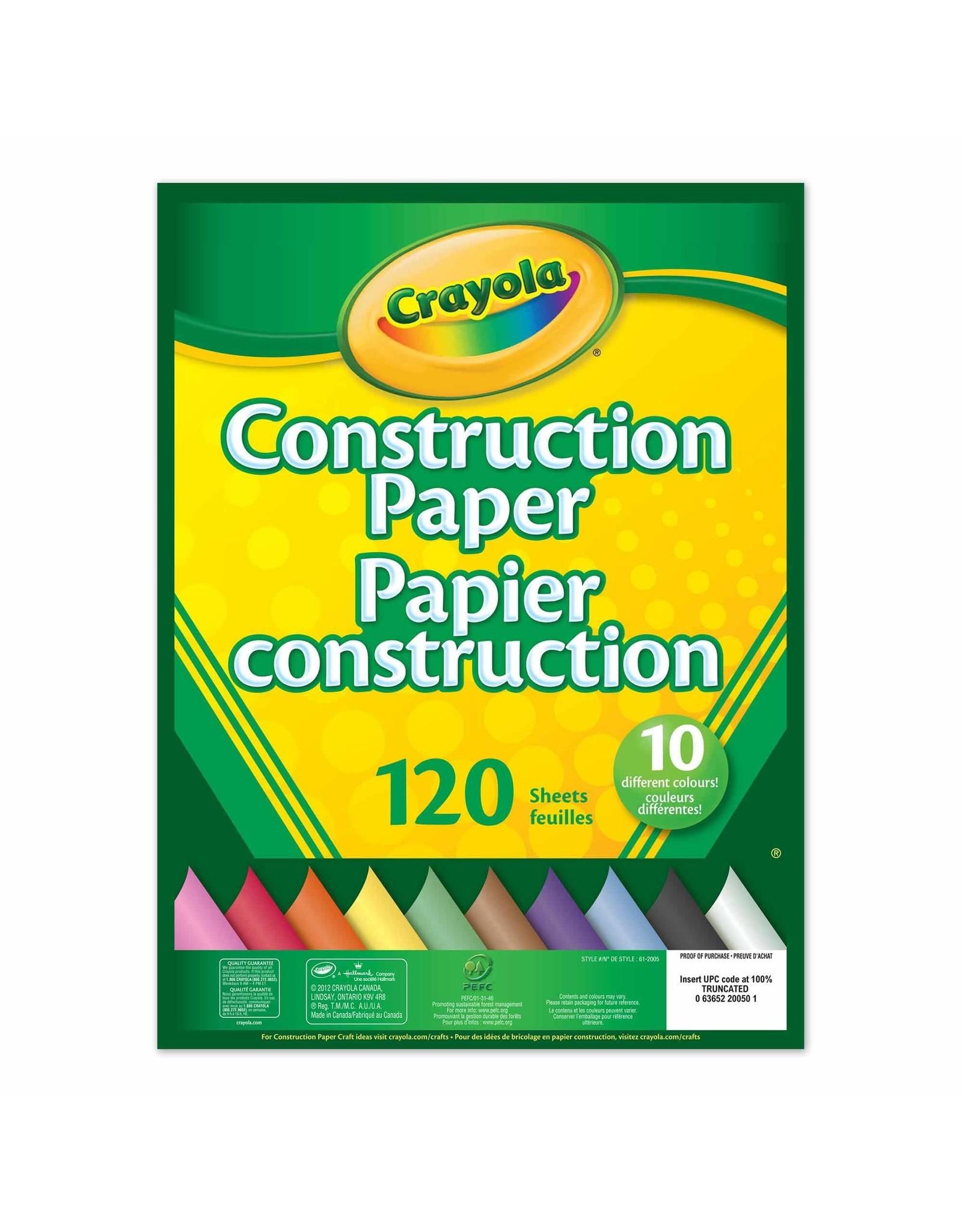 Crayola Crayola 120 count Construction Paper