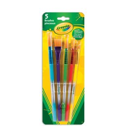 Crayola Crayola 5 Premium Paint Brushes