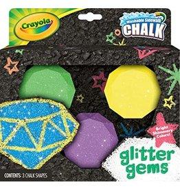 Crayola Crayola Sidewalk Chalk Glitter Gems
