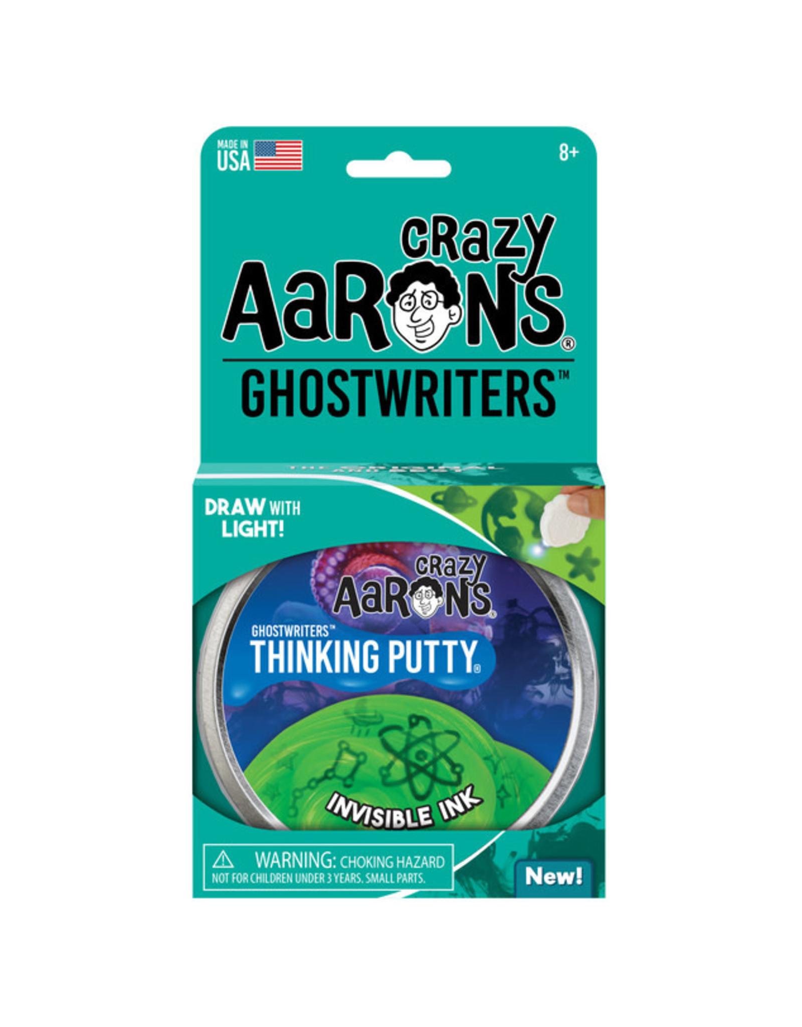 "Crazy Aaron's Crazy Aaron's 4"" Tin Invisible Ink - Ghostwriters"