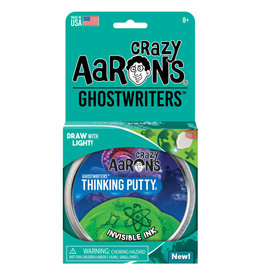 "Crazy Aaron's Crazy Aaron's 4"" Tin Invisible Ink - Ghostwriters"
