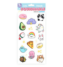 Squishable Squishable Cute Friends Stickers