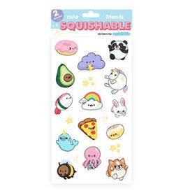 Squishable Squishables Cute Friends Stickers