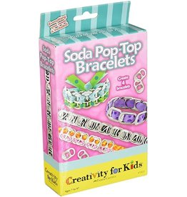 Creativity For Kids Soda Pop-Top Bracelets