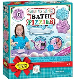 Creativity For Kids Snowflake Surprise Bath Fizzies