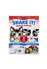 Melissa & Doug Shake It! Beginner Craft Kit - Farm
