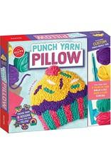 Klutz Klutz Punch Yarn Pillow