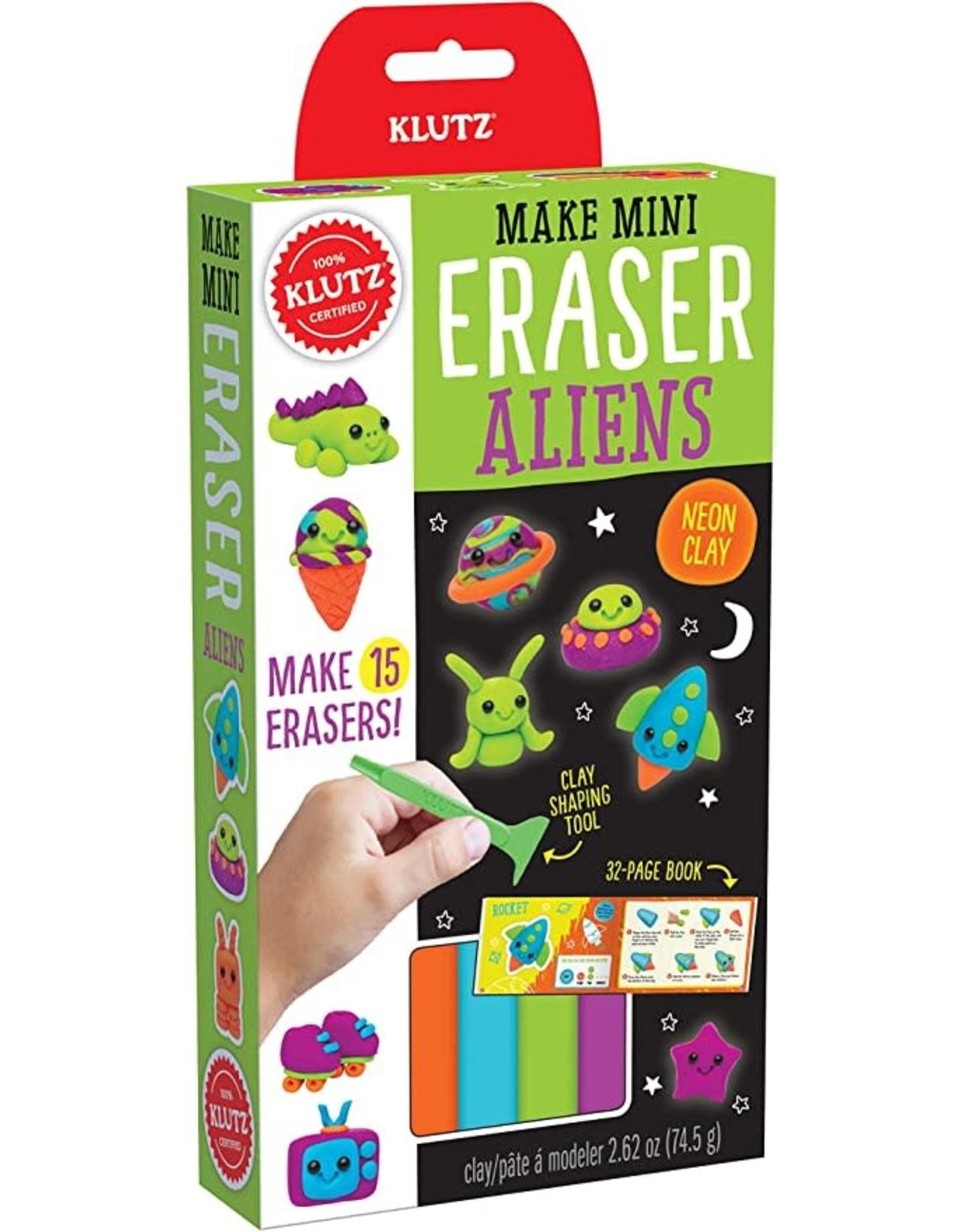 Klutz Mini Erasers: Aliens