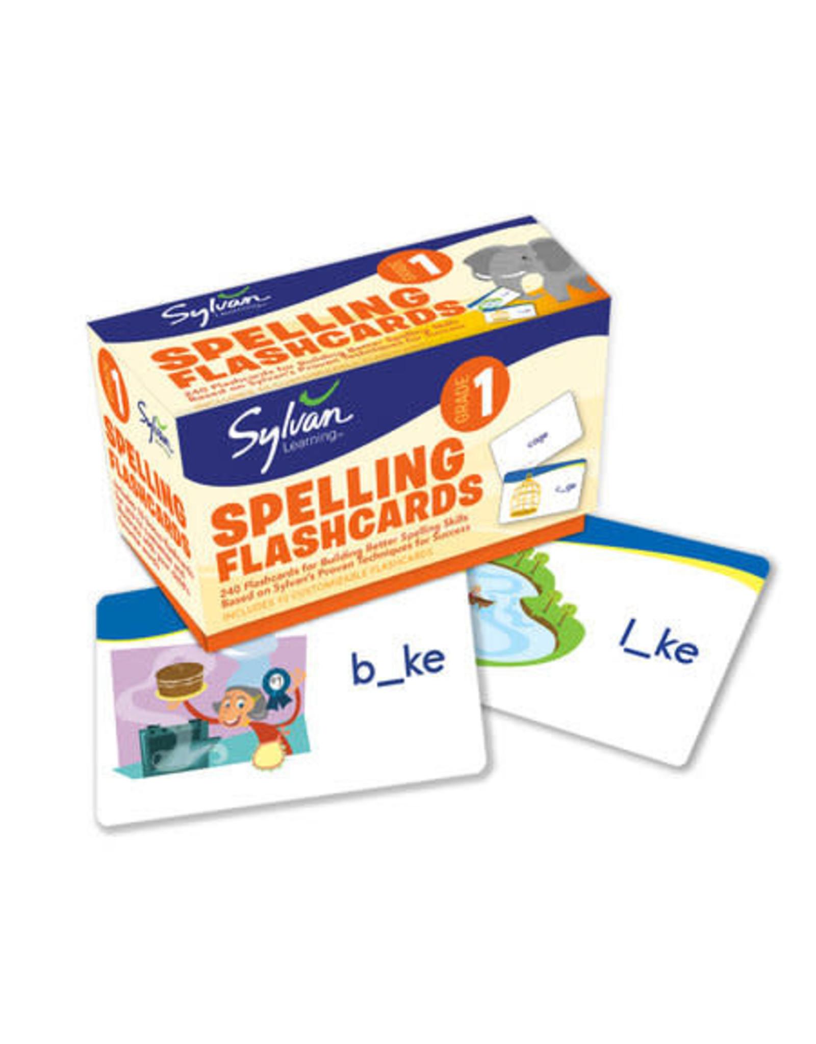 Sylvan 1st Grade Spelling Flashcards