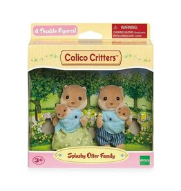 Calico Critters BL Splashy Otter Family Calico Critters