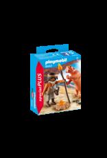 Playmobil Caveman with Sabertooth Tiger