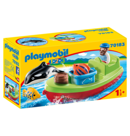 Playmobil Fisherman with Boat