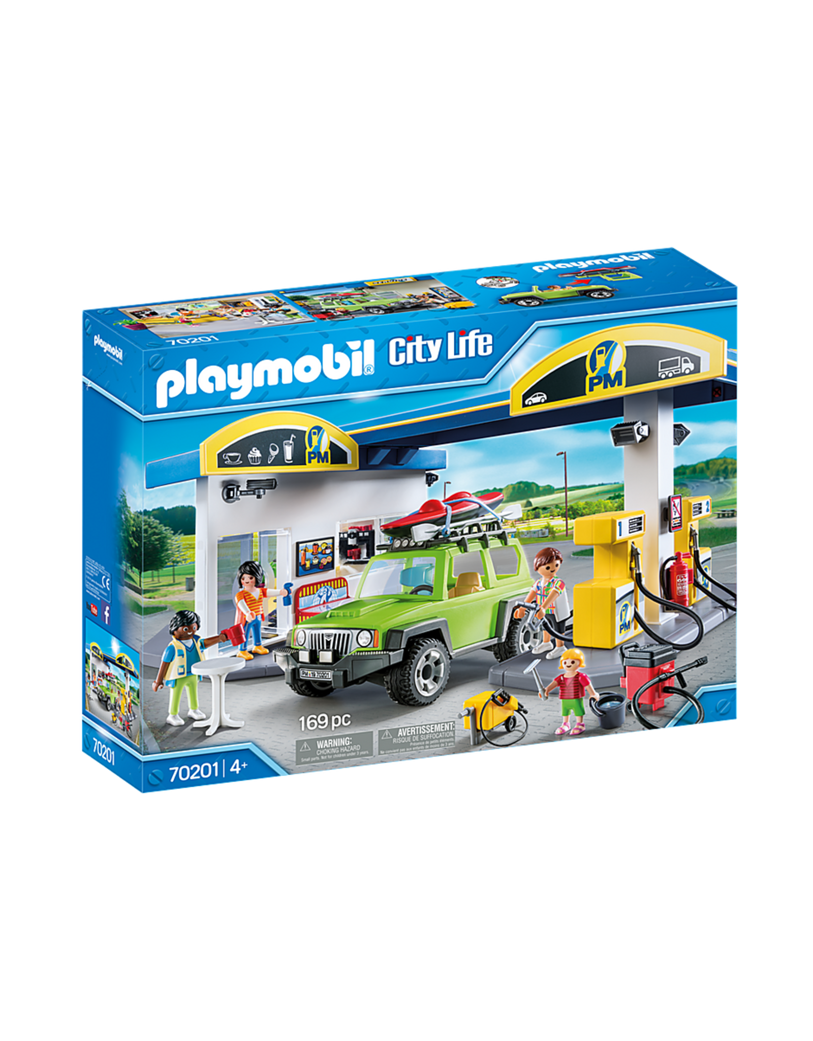 Playmobil Gas Station