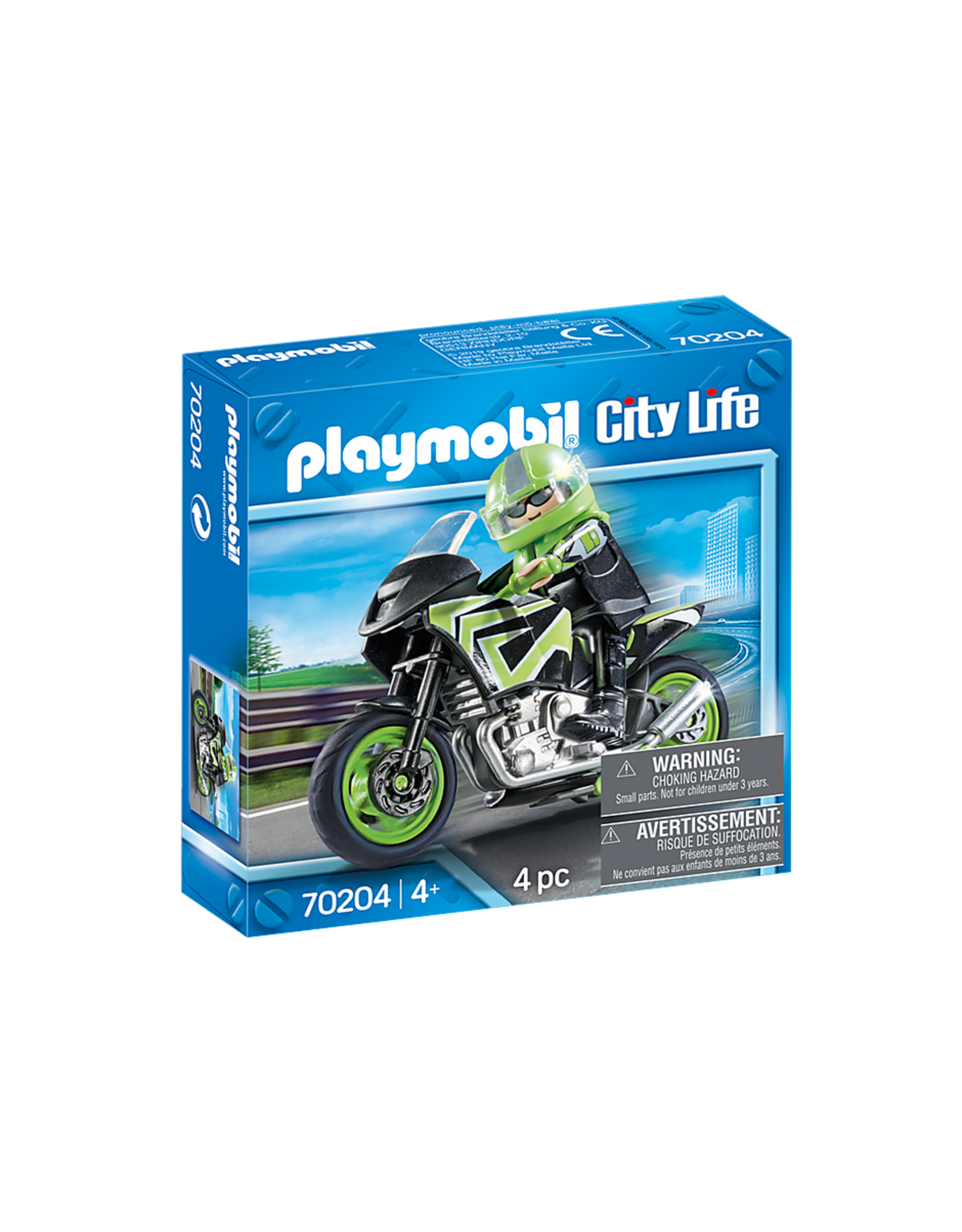 Playmobil Motorcycle with Rider