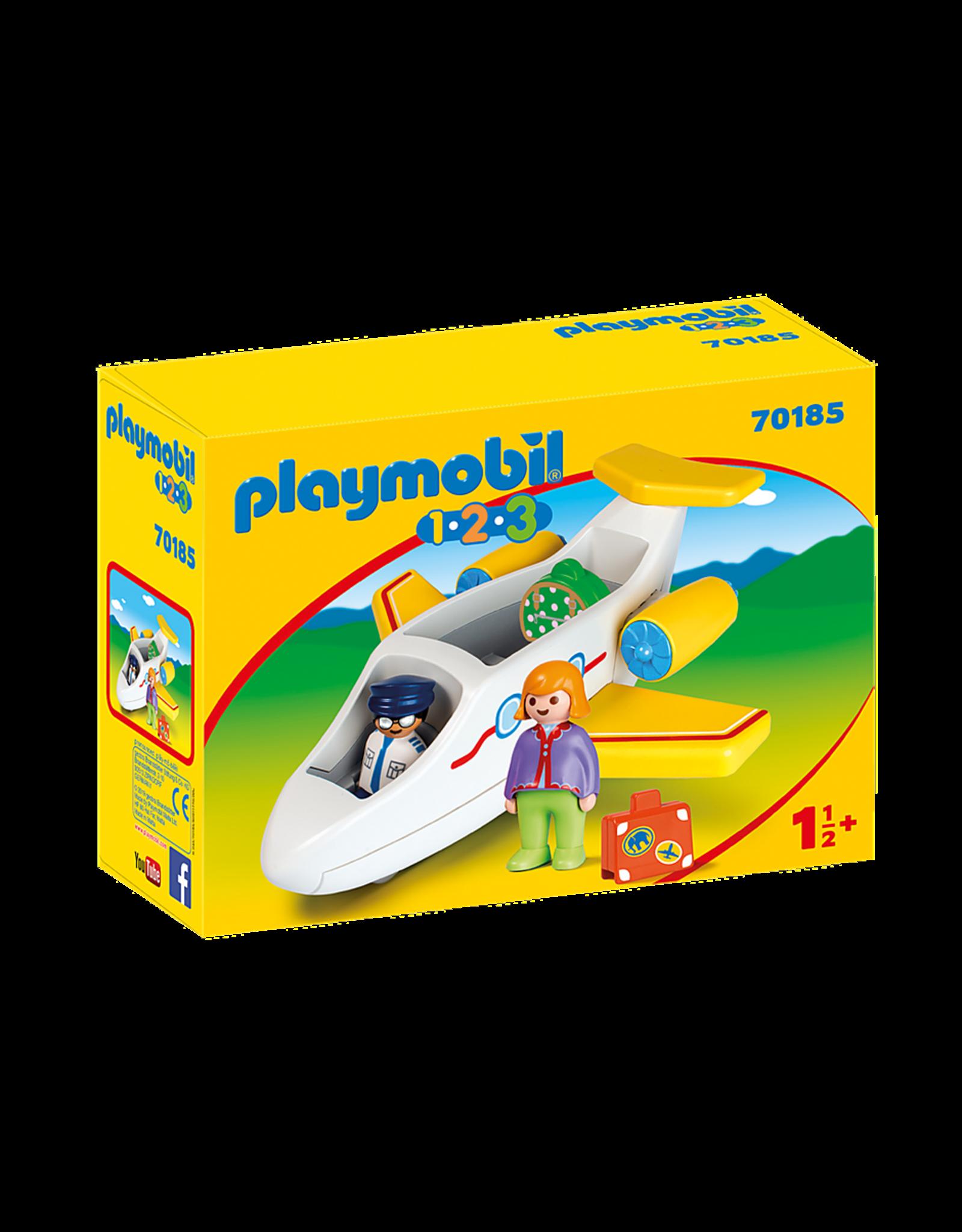 Playmobil Plane with Passenger