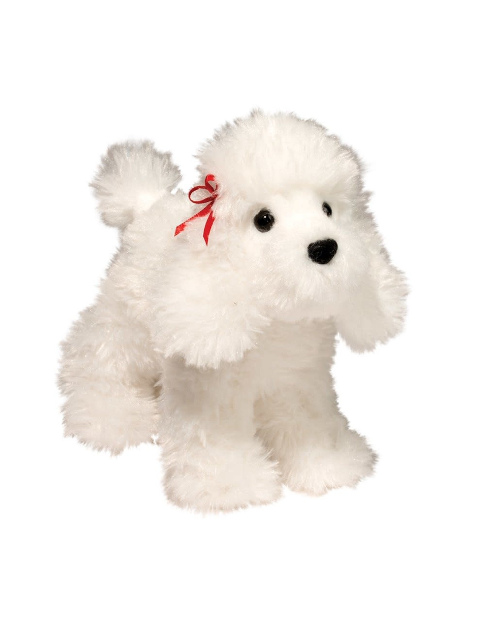 Douglas Gina White Poodle
