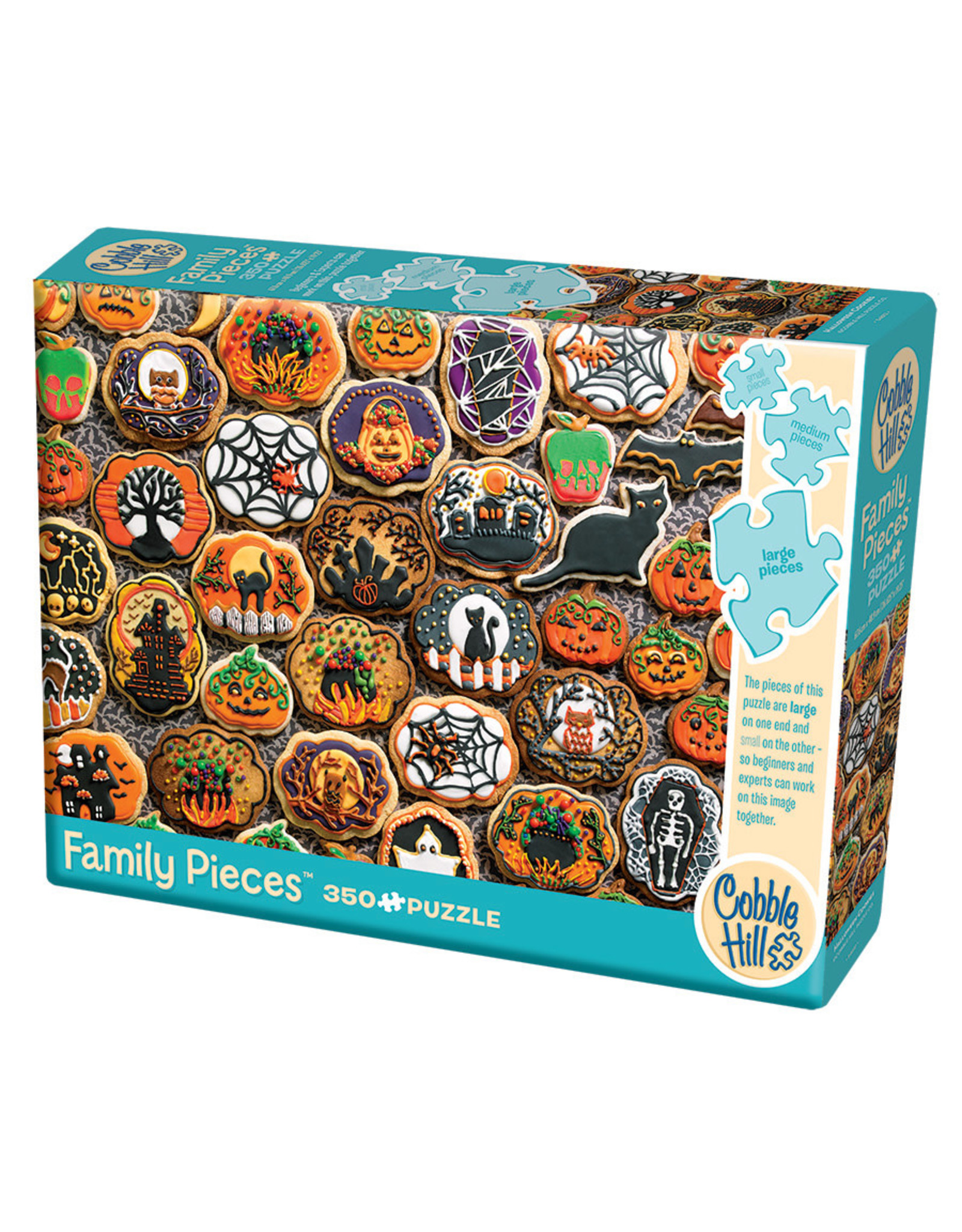 Cobble Hill Halloween Cookies 350 pc Family Puzzle