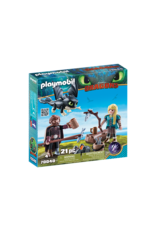 Playmobil Hiccup & Astrid Playset