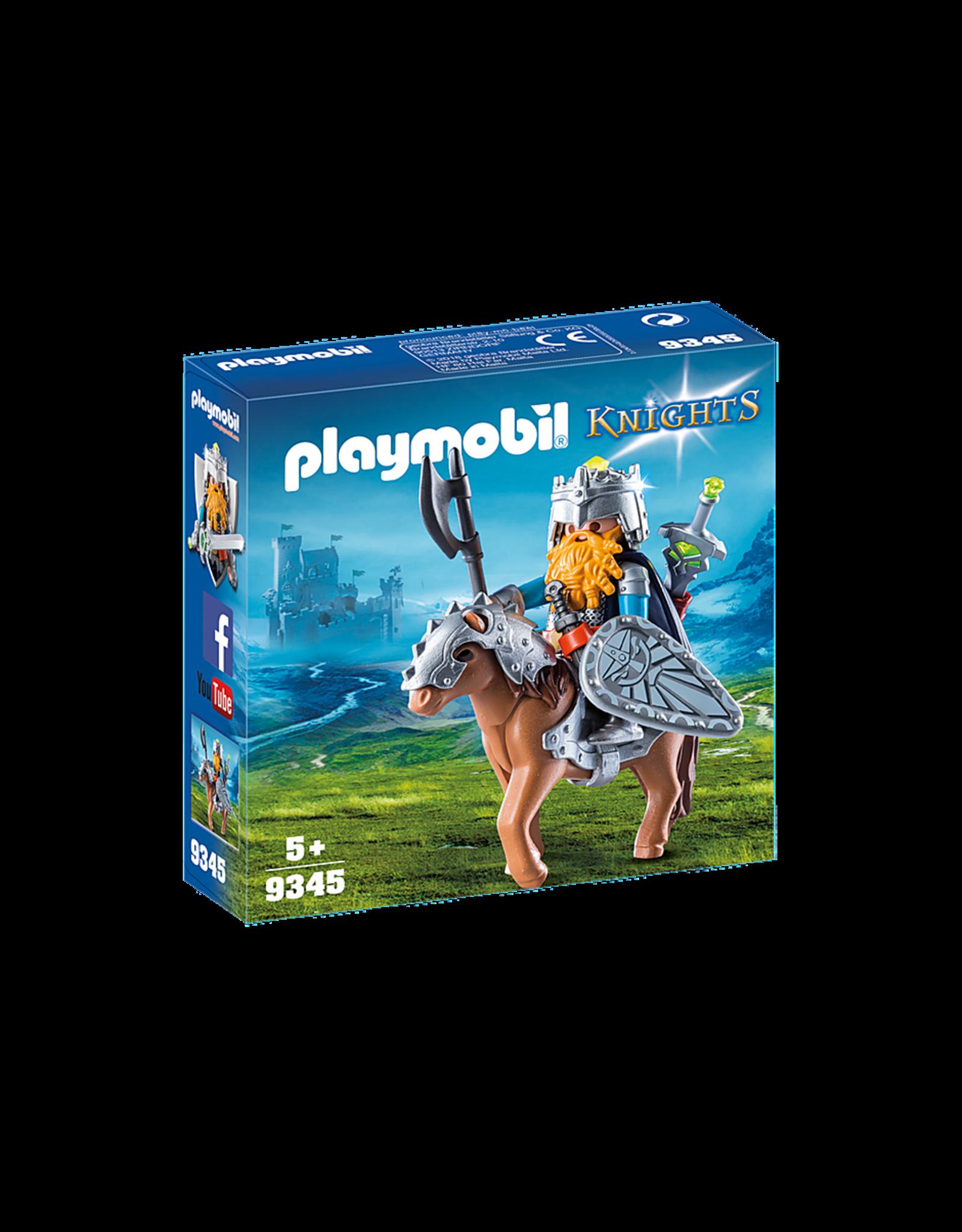 Playmobil Dwarf Fighter with Pony