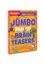 Highlights Highlights Jumbo Book of Brain Teasers
