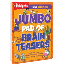 Highlights Highlights Jumbo Book of Brain Teasers