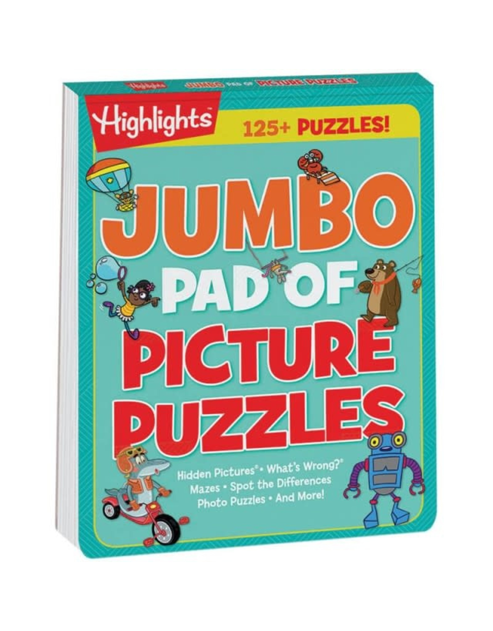 Highlights Highlights Jumbo Pad of Picture Puzzles