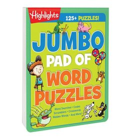 Highlights Highlights Jumbo Pad of Word Puzzles