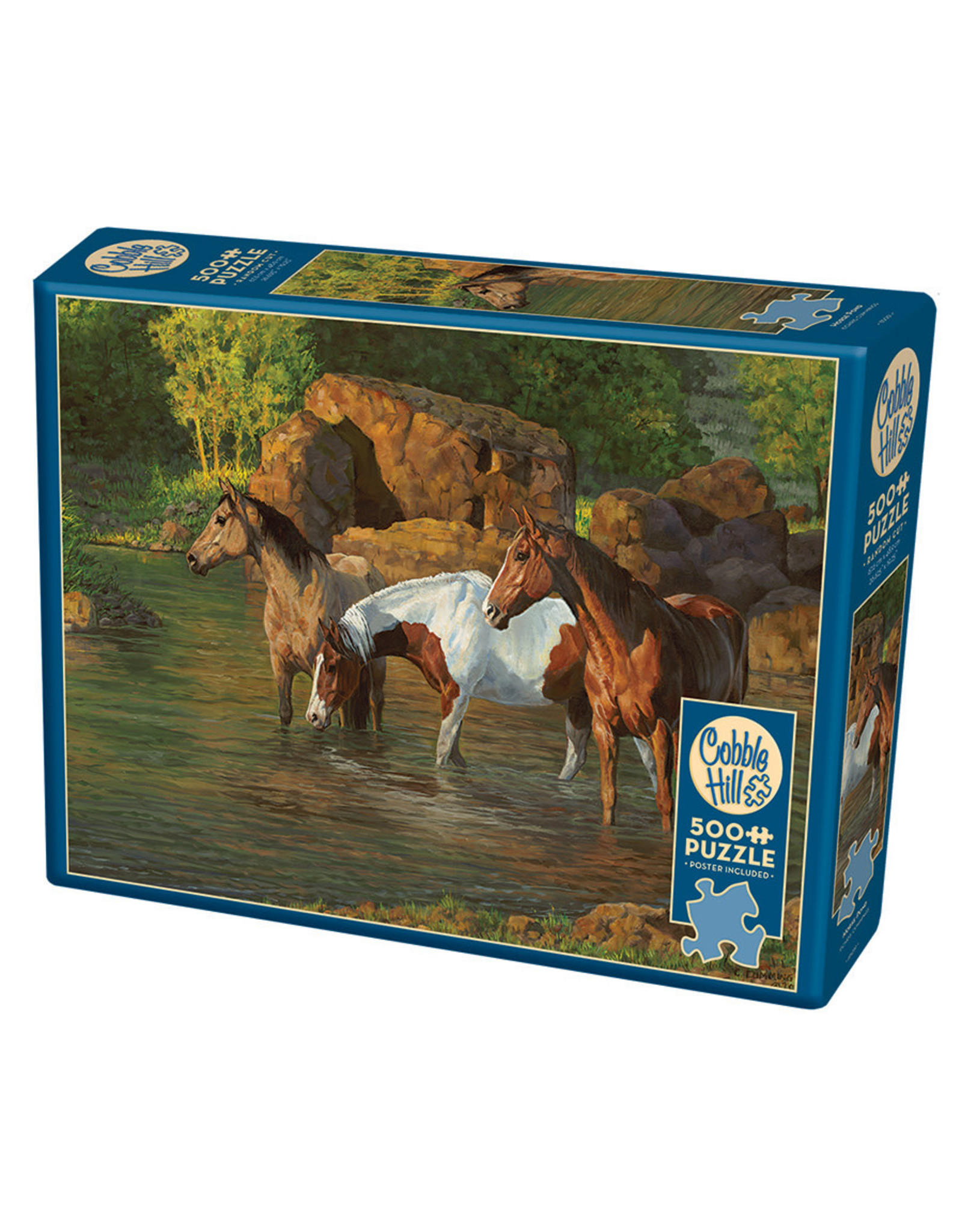 Cobble Hill Horse Pond 500 pc