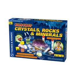 Thames & Kosmos Kids First: Crystals, Rocks & Minerals Kit