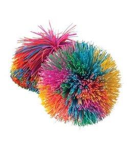 Toysmith Rainbow Pom Pom Ball