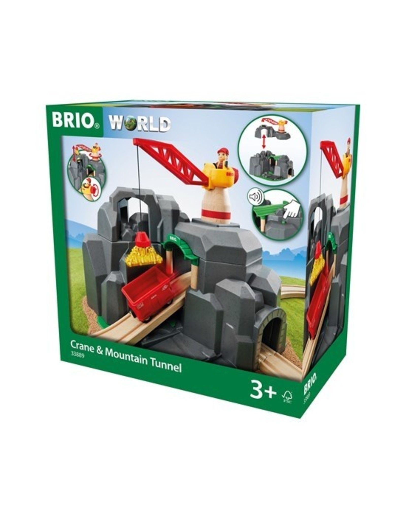 Brio BRIO Crane & Mountain Tunnel