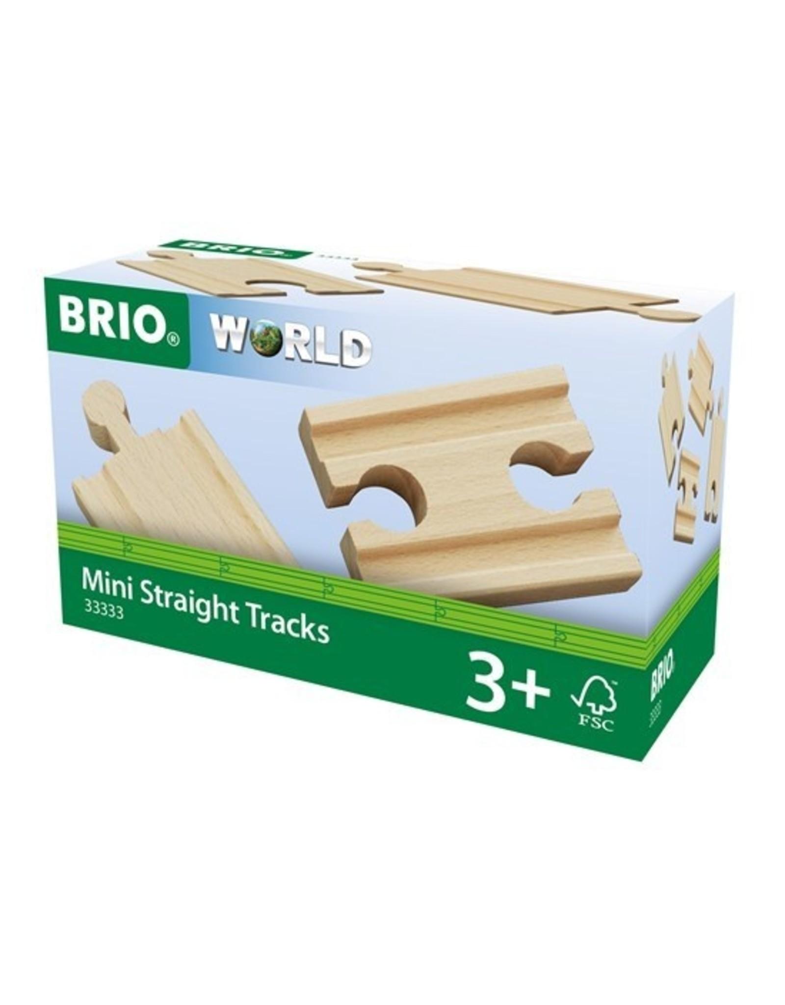 Brio Brio Mini Straight Tracks