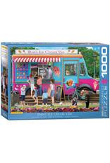 Eurographics Dan's Ice Cream Van by Normand 1000 pc