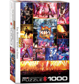 Eurographics KISS The Hottest Show on Earth 1000 pc