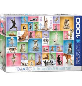 Eurographics Yoga Dogs 1000 pc
